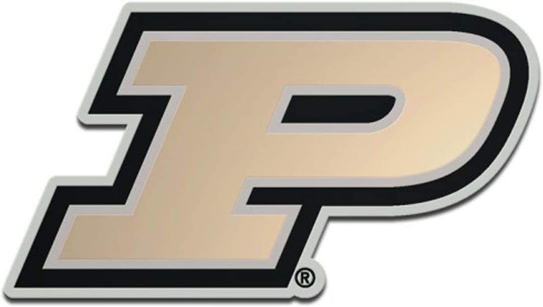 Hard Thick Acrylic WinCraft Purdue Boilermakers Auto Badge Emblem