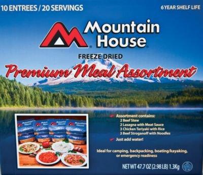 Mountain House Premium 10 Pack Assortment Amazon Grocery Gourmet Food
