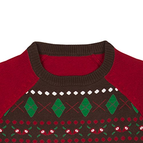 Blueberry Pet Ugly Christmas Men's Women's Holiday Festive Pullover Crewneck Sweater, Sweaters for Men or Women, Medium by Blueberry Pet (Image #4)'