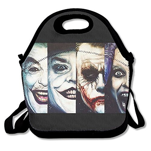 Fox Customzied Suicide Squad Joker Multifunction Lunch Tote Bag With Adjustable Straps
