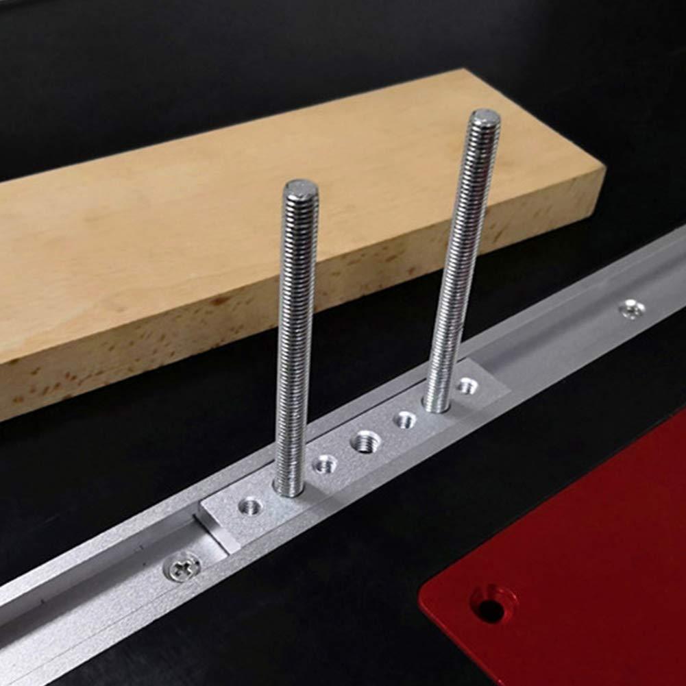 Tuerca de ranura en T M6 para herramientas de carpinter/ía Doolland 5 unidades