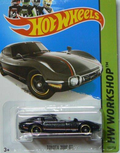 Hot Wheels 2014 Hw Workshop Hw All Stars Black Toyota 2000 Gt 192/250