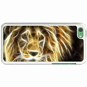 Custom Fashion Design for ipod Touch 4 Back Cover Case Personalized Customized Diy Gifts In Image fractal White