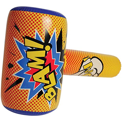 U.S. Toy IN407 Superhero Bopper Inflate -