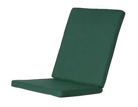 2 Folding Chair Cushions   GREEN