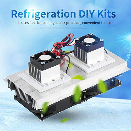 12V 12A Thermoelectric Peltier Refrigeration Cooling System Semiconductor Refrigeration Cooler DIY Kit Mini Air Conditioner Fridge