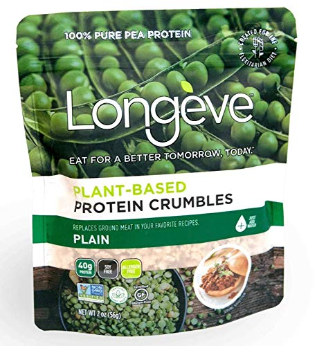 Longève Plant-based Protein Crumbles
