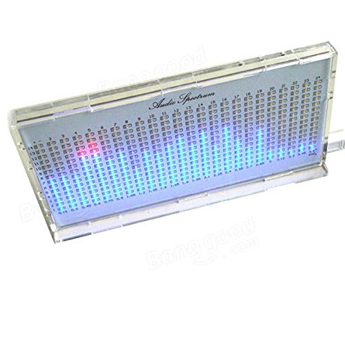 Led Spectrum Kit - Diy Music Spectrum Kit - AS1424 Music Spectrum LED Flashing Kit TOP Audio Spectrum - White (Led Music Spectrum) by Unknown (Image #3)