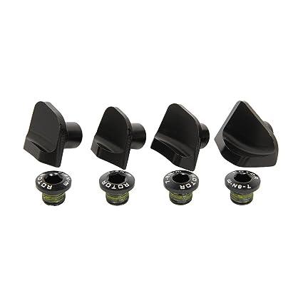 Rotor Tornillo Embellecedor Shimano Dura Ace 9100 Set 110 x 4 Negro