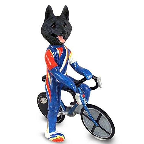 Schipperke Bicycle Doogie Collectable Figurine