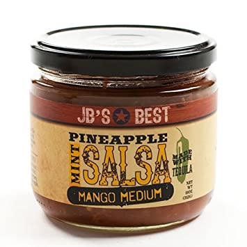 JBS BEST Salsa Mango Pineapple Tequila, 11 OZ