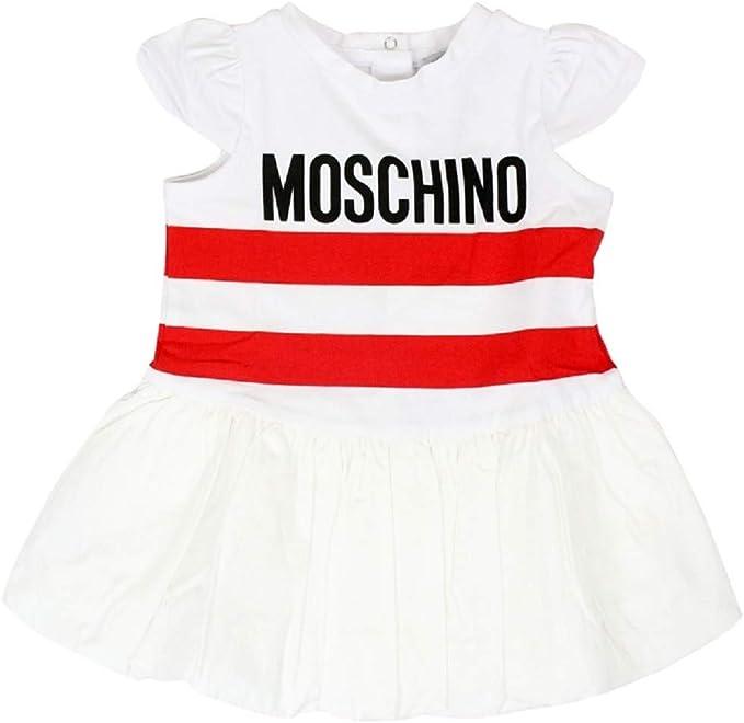 Moschino Abito con Stampa da Bambina