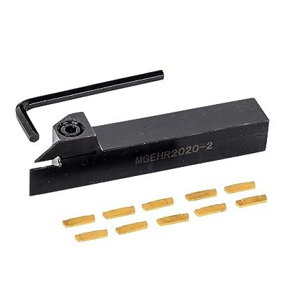 MGEHR1212-2 Boring Bar Wrench Lathe Turning Tool 4pcs MGMN200 Carbide Inserts