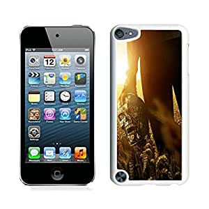 iPod Touch 5 Case,Excellent protection Terminator Genisys Movie White For iPod Touch 5 Case