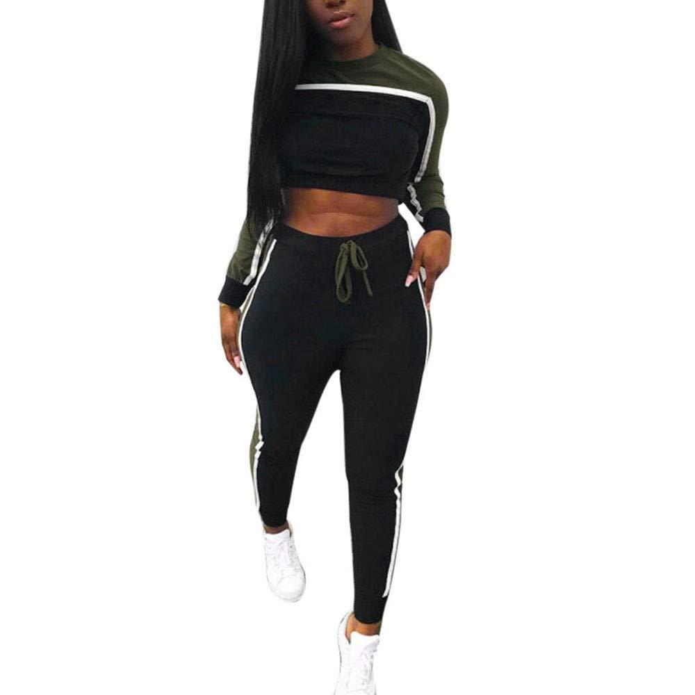Amazon.com: Xinantime Women Tracksuit Sweatshirt Pants Sets ...