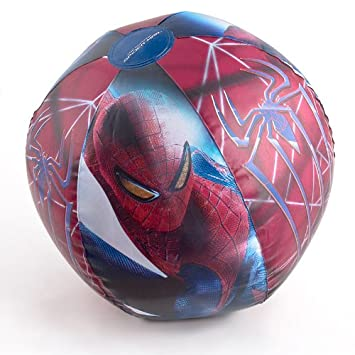 Pelota de playa Pelota inflable 51 cm Spiderman: Amazon.es ...