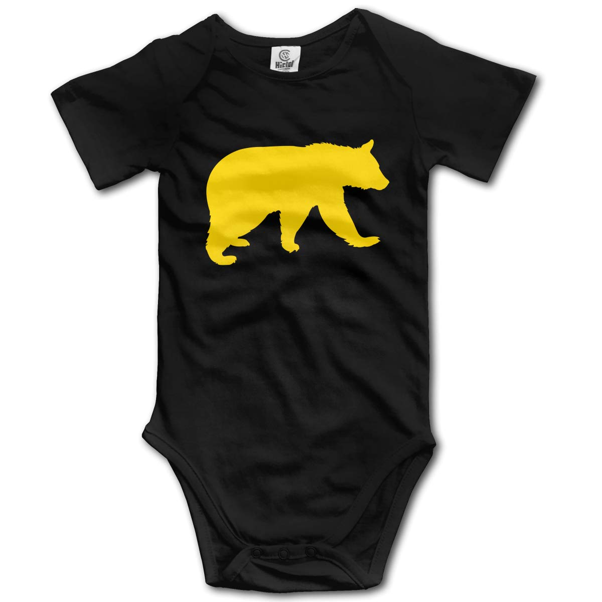Walking Bear Unisex Solid Baby 100/% Organic Cotton Bodysuit Rompers 0-2T