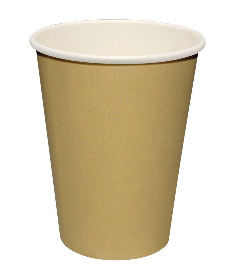 Fiesta GF030 Single Wall Hot Cups Brown Pack of 1000