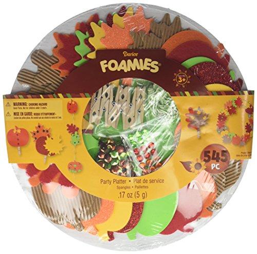 Darice Platter Party mm Harvest Leaves Harvestleaves (30025646)