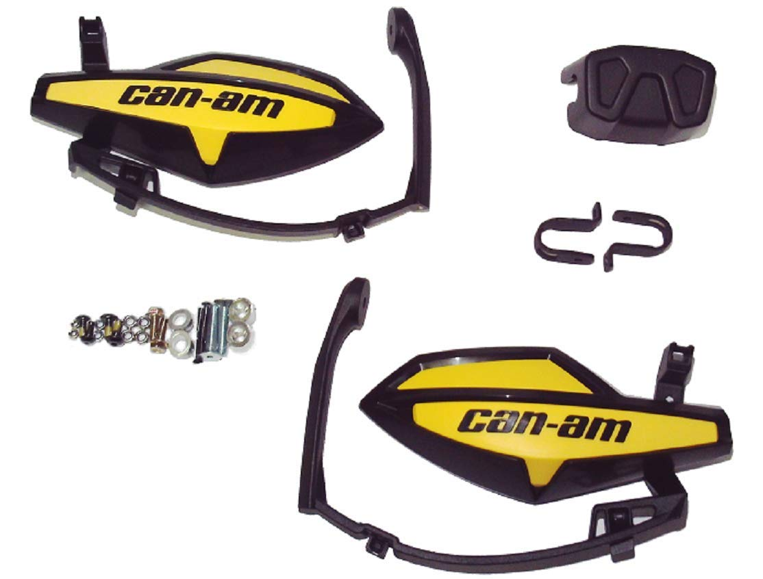 Can Am Renegade Outlander OEM Left/Right Hand Guard Wind Deflector C99 Can-Am