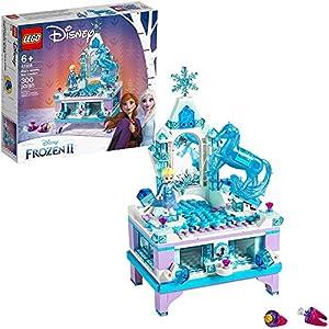 Best Epic Trends 51b5gkfYz7L._SS300_ LEGO Disney Frozen II Elsa's Jewelry Box Creation 41168 Disney Jewelry Box Building Kit with Elsa Mini Doll and Nokk…