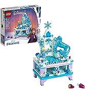 LEGO Disney Frozen II Elsa's Jewelry Box Creation 41168 Disney Jewelry Box Building Kit with Elsa...