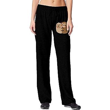 Bu-BY Pantalones de chándal Holgados de Sirena para Mujer ...