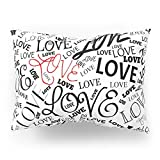 Society6 LOVE Pillow Sham Standard (20'' x 26'') Set of 2