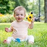 Estella Baby Rattle Toy, Bus, Yellow