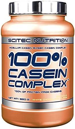 Scitec Nutrition Casein Complex Proteína Chocolate Blanco, Maracuyá - 920 g
