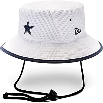 8a05ade13 Image Unavailable. Image not available for. Color  Youth New Era Dallas  Cowboys Training Bucket Hat One ...