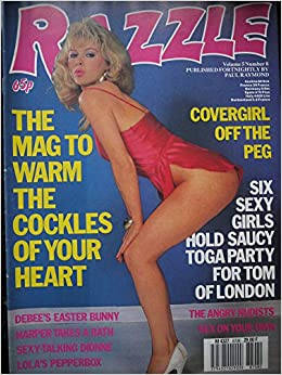 adult magazine Razzle