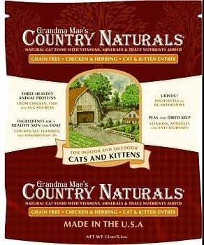 Grandma Mae's 79700153 12 lb Country Naturals Grain Free Cat, One Size by Grandma Mae's