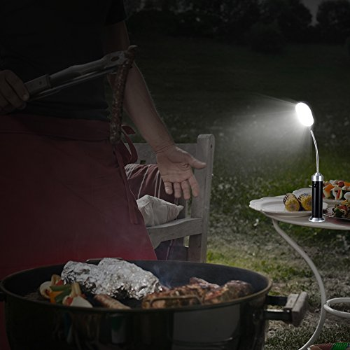 Coquimbo-Barbecue-Grill-Light-with-Magnetic-Base-Super-Bright-LED-Lights-Flexible-Gooseneck-BBQ-Light-for-Any-GasCharcoalElectric-Grill-2-Pack-Black