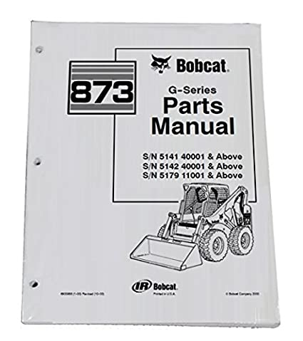 bobcat 873 parts diagram wiring online diagramamazon com bobcat 873 skid steer parts catalog part number bobcat parts catalog bobcat 873 parts diagram