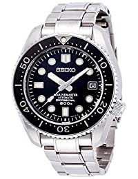 Seiko Men's 'Prospex' Japanese Automatic Stainless Steel Diving Watch, Color:Silver-Toned (Model: SBDX017)