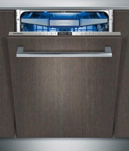 Siemens Sx66 V097eu Dishwasher Vollint Egriert A 194 13 Mgd Kwh Year 1960 L Stainless Steel Aqua And Load Sensor Aquastop With Lifetime Warranty Amazon De Large Appliances