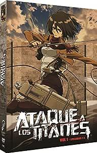 Ataque A Los Titanes Vol 1 [DVD]: Amazon.es: Animación, Tetsuro Araki, Animación, Gen Fukunaga: Cine y Series TV