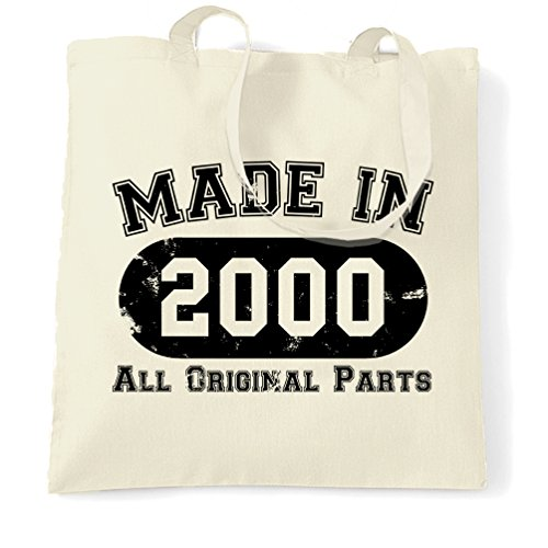 Natural Shopping Birthday 18th All Parts Bag Made 2000 in Original q5zn5fHr