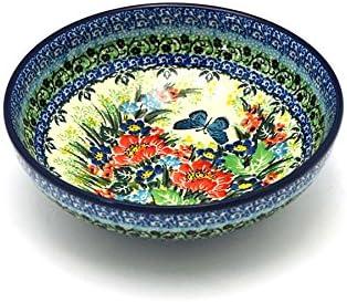 Polish Pottery Bowl Contemporary Salad Unikat Signature U4553 Pasta Bowls