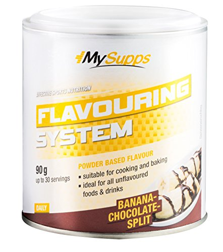 My Supps Flavouring System, 2er Pack (2x 90g) (Banana-Chocolate-Split)