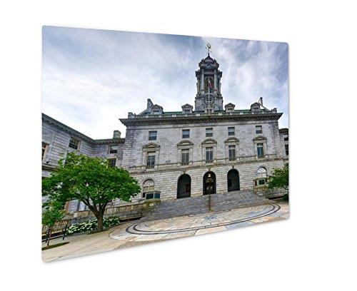 Ashley Giclee Metal Panel Print, Portland City Hall Maine, (Portland City Hall)