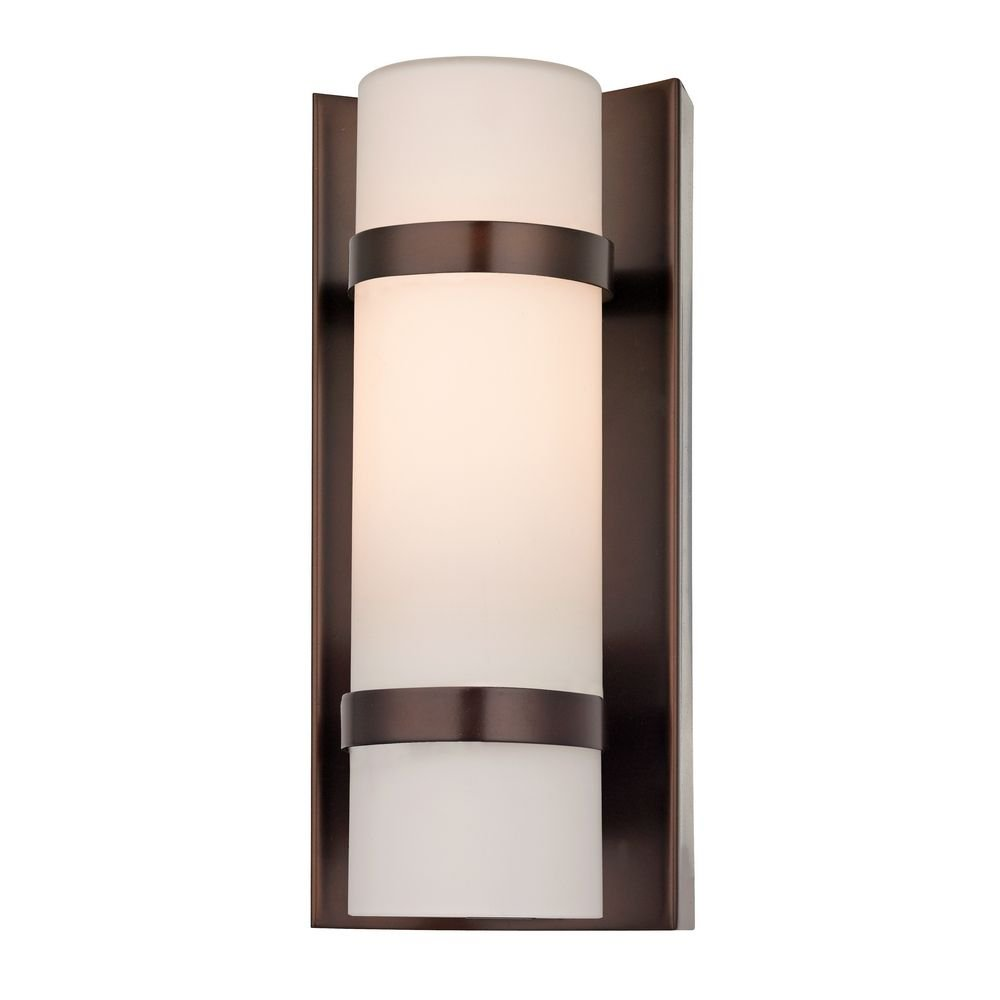 Bronze Indoor/Outdoor Wall Light - Wall Sconces - Amazon.com