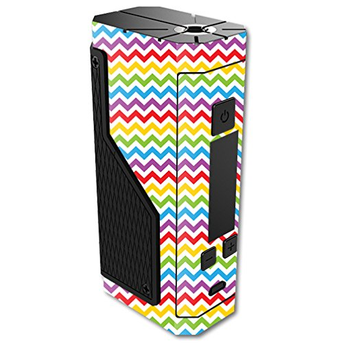 MightySkins Skin For Volcano Lavabox DNA 200 – Candy Chevron | Protective, Durable, and Unique Vinyl Decal wrap cover | Easy To Apply, Remove, and Change Styles | Made in the USA