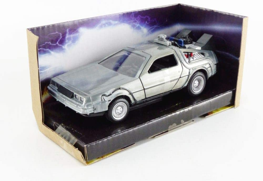 Details about  /Jada 253252003 Back to The Future Delorean 1:32