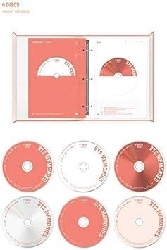 Incl. Weverse Shop Gift : BTS Memories of 2019 Photo Frame, Random Transparent Photocards Set BTS Memories of 2019