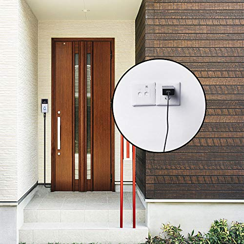 Power Supply for The Ring Video Doorbell 2-16 ft// 5 m Charge Cable with DC Power Adapter Compatible with Ring Video Doorbell 2 No Need to Change the Batteries Continuously Charging