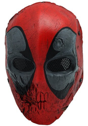 Skull 40d Mask Full Face Wire Mesh Mask for Airsoft , BB Gun and Paint (500fps Airsoft Guns)