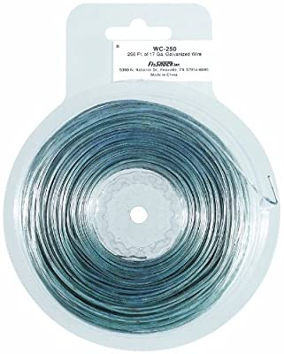 Fi-Shock WC-250 250-Feet, 17 Gauge Spool Galvanized Steel Wire
