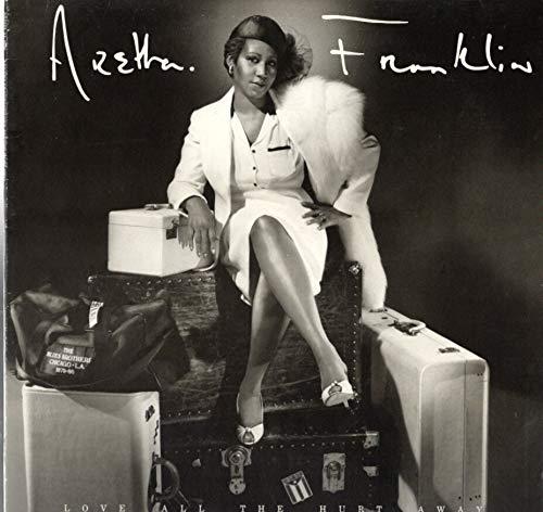 Aretha Franklin: Love All The Hurt Away LP VG++/NM Canada Arista AL ()